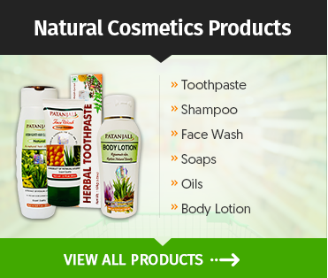 Natural Cosmetics Products